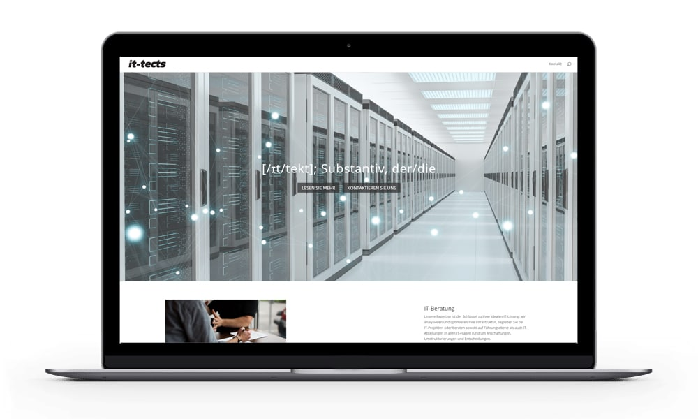 Compassist Webdesign, Webseite